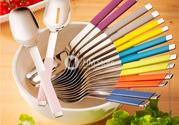 Ложки для салата с декорированной ручкой,  продам интернет-магазин