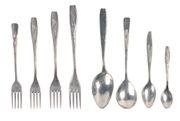 Алюминиевые , литые,  ложки , вилки